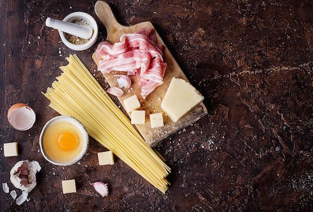Pasta carbonara ingredienti