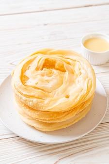 Pasta fritta croccante di roti
