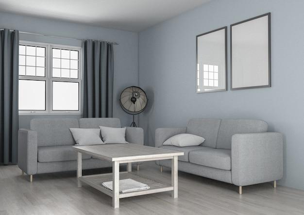 Pastello vivente minimalista