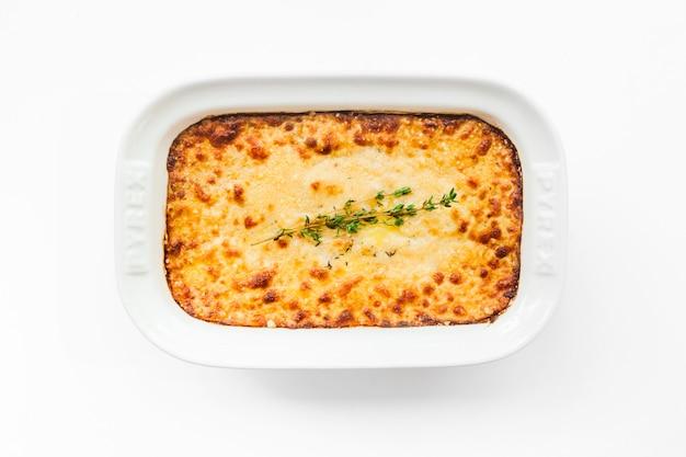 Patate al forno con formaggio