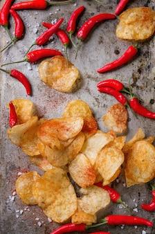 Patatine fritte con peperoncino