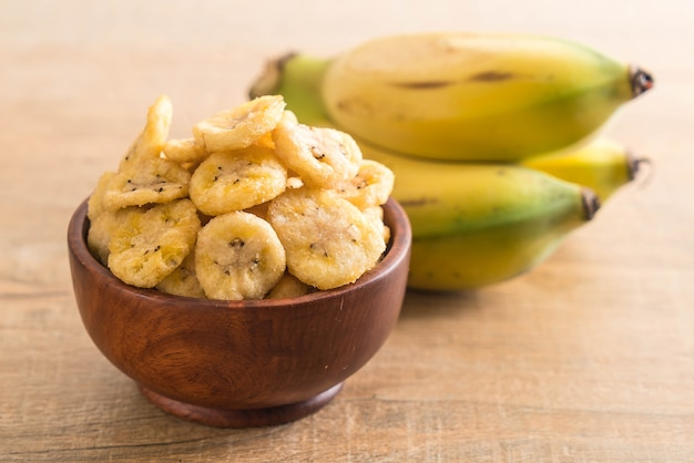 Patatine fritte di banana