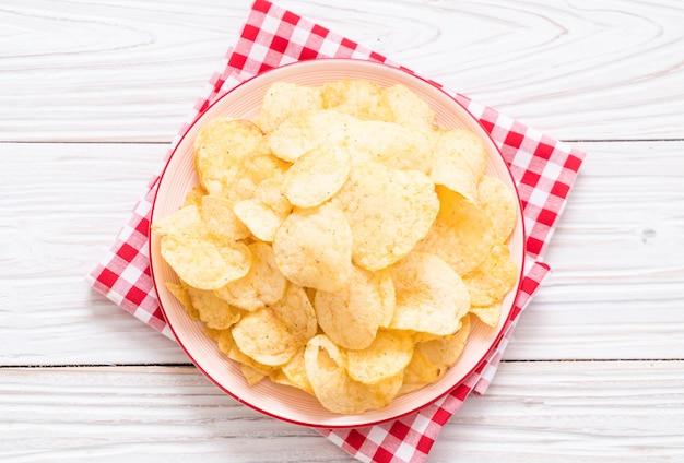 Patatine fritte sul piatto