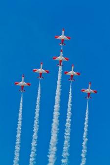 Patrulla aguila, squadra di dimostrazione acrobatica dell'aeronautica spagnola