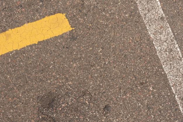 Pavimento in cemento per una strada all'aperto