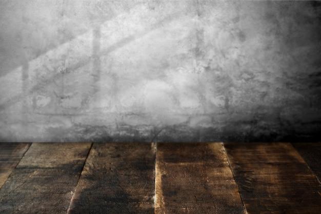 Pavimento in legno rustico