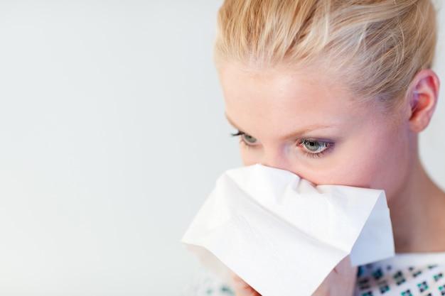 Paziente con l'influenza