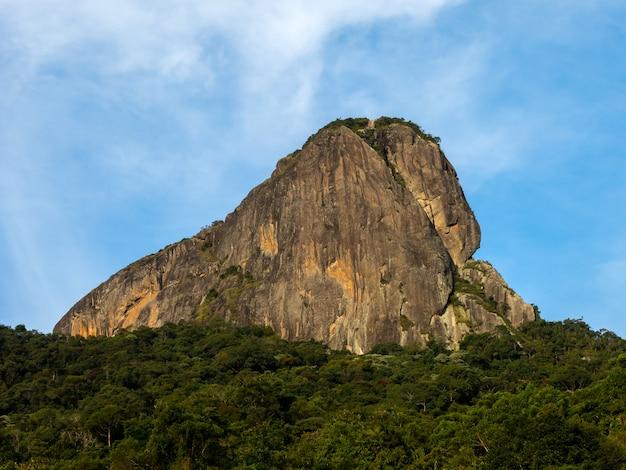 Pedra do bau rock mountain in brasile