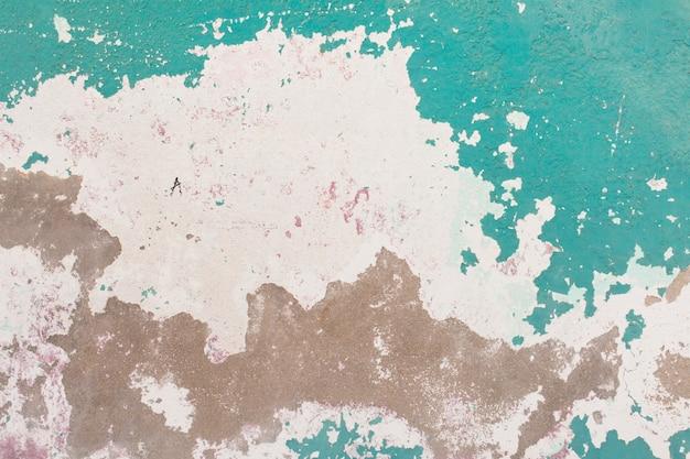 Peeling vernice verde
