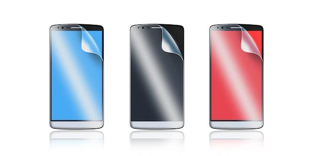 Pellicola di protezione del telefono sullo schermo