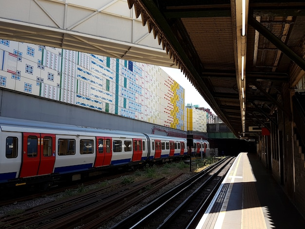 Pendolari per il tempo libero della stazione ferroviaria
