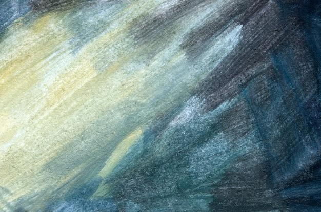 Pennellate di vernice. arte moderna. sfondo di arte astratta. - immagine