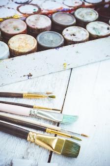 Pennelli per artisti