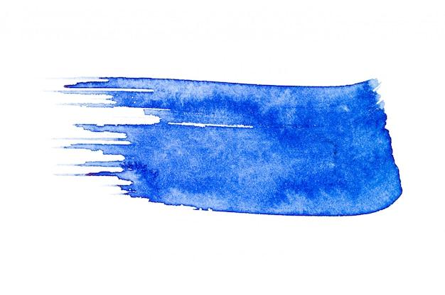 Pennello blu dell'acquerello