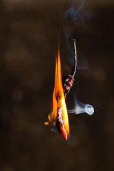 Peperoncino in fiamme