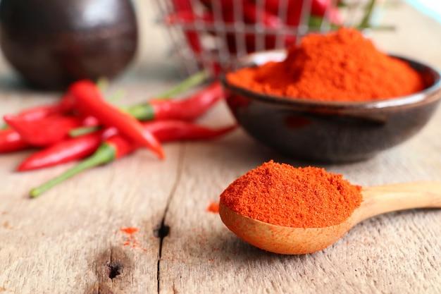 Peperoncino rosso coreano in polvere