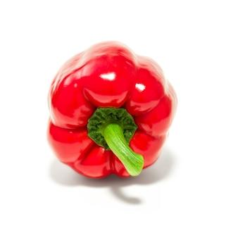 Peperone dolce, peperone dolce o capsico isolato, verdura sana