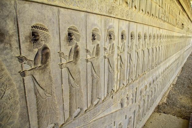 Persepoli / iran - 30 set 2012: persepoli è la capitale dell'antico impero in iran