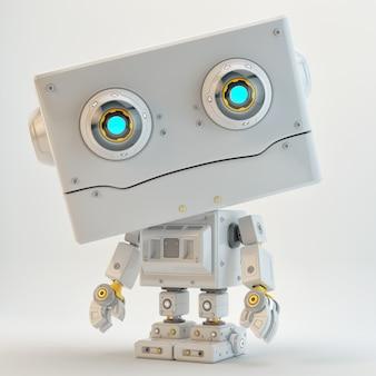 Personaggio robot fantascientifico