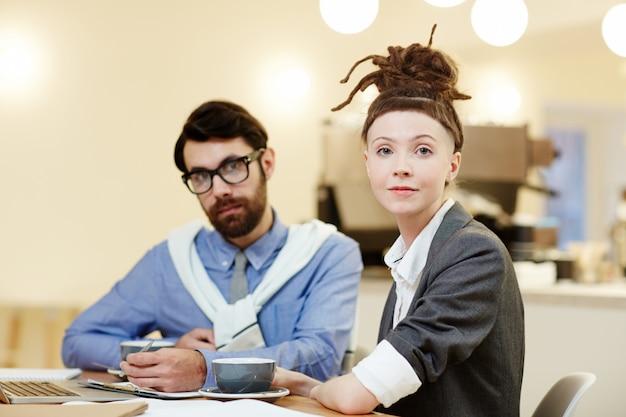 Personale aziendale giovane