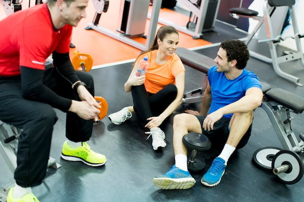 Persone in palestra