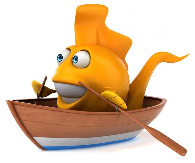 Pesce divertente