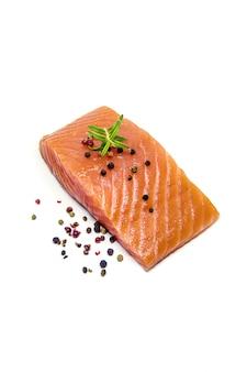 Pesce rosso. messa a fuoco selettiva cibo e bevande.