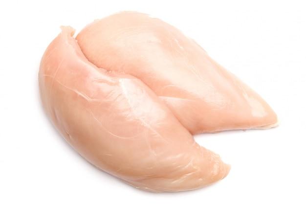 Petti di pollo crudi