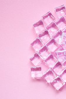 Pezzi acrilici artificiali di cubetti di ghiaccio