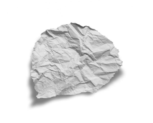 Pezzi di carta strappata texture di sfondo, copia spazio.