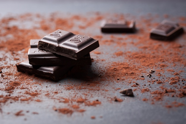 Pezzo di cioccolato