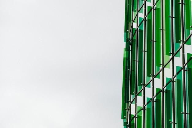 Pezzo di moderno edificio futuristico