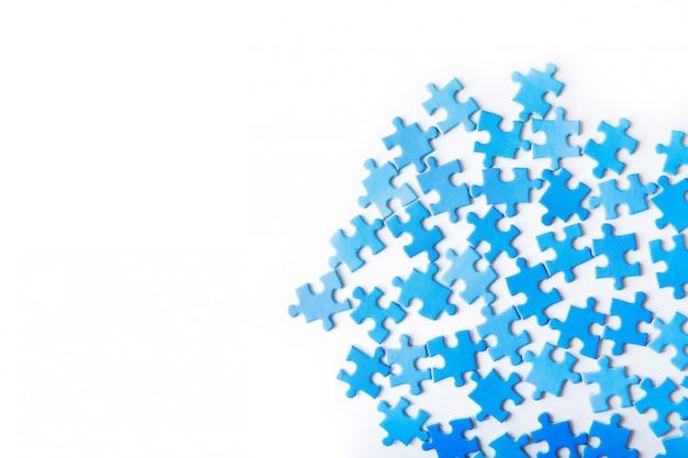 Pezzo di puzzle di collegamento