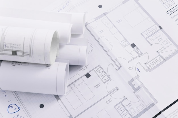 Piani di costruzione del primo piano