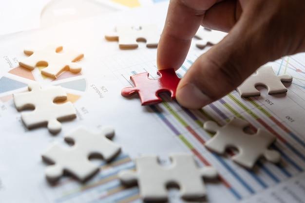 Pianificazione per puzzle aziendali