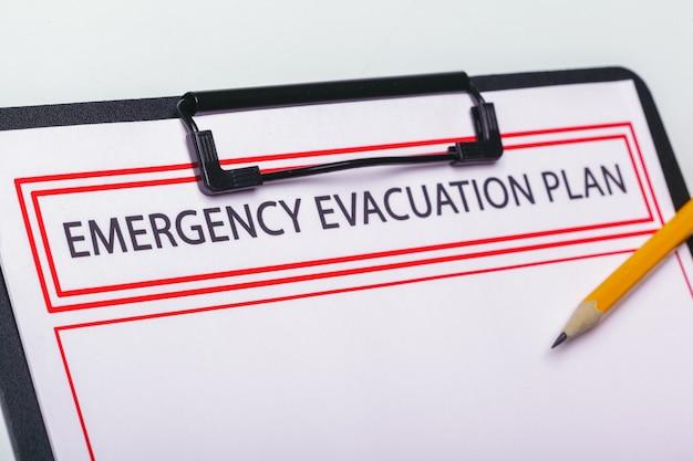Piano di evacuazione di emergenza