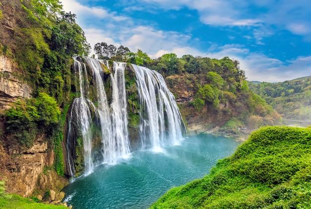 Piante sceniche d'acqua montagne creek