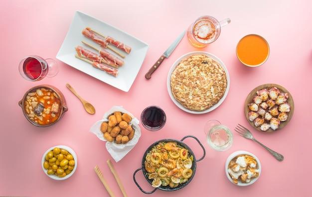 Piatti tipici in spagnolo