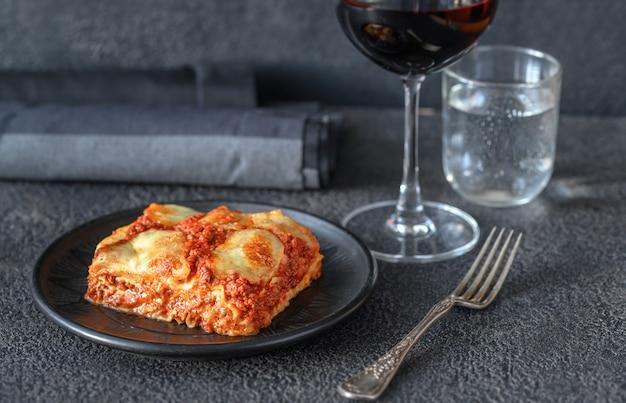 Piatto di lasagne