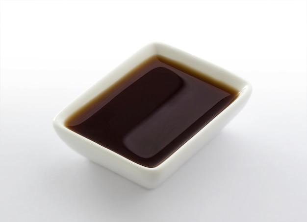 Piatto di salsa di soia