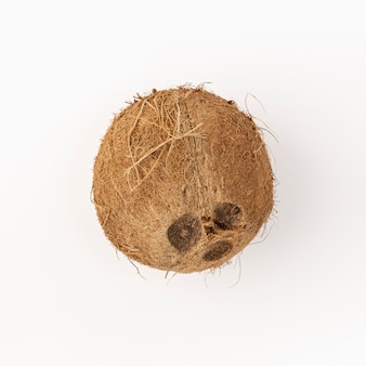 Piatto disteso di cocco