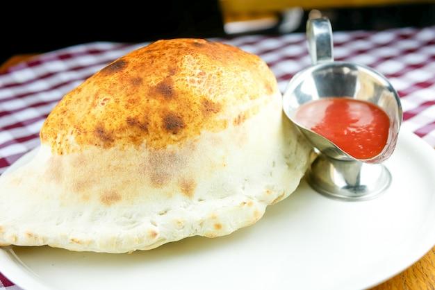 Piatto principale in un ristorante