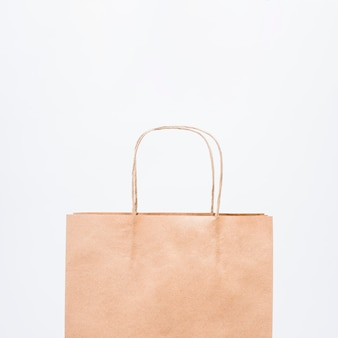 Piccola shopping bag con manici