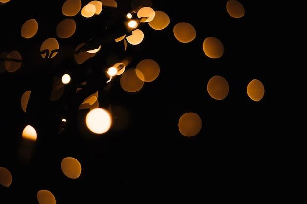 Piccole lampadine e punti luce