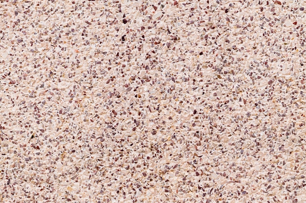 Piccolo fondo misto di struttura della parete di pietra della ghiaia del cemento del pavimento variopinto di terrazzo della decorazione.