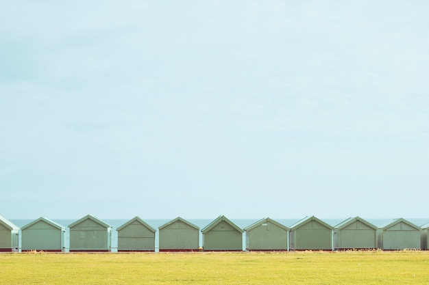 Piccolo orizzonte di case
