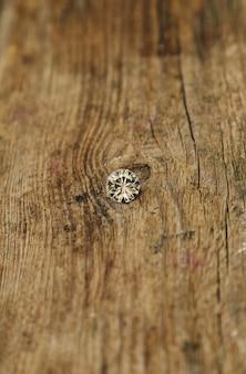Piccolo pezzo di diamante