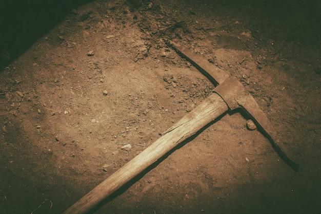 Pickaxe al suolo