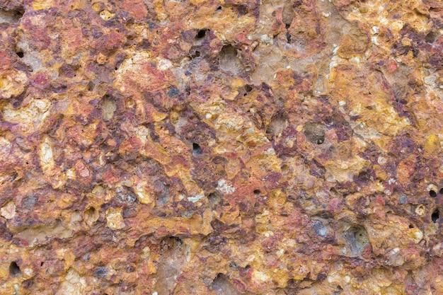 Pietra. granito. marmo. trama di sfondo ruvido