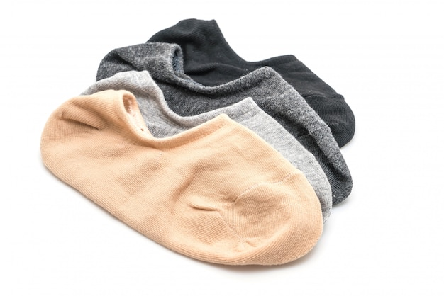 Pila di calzini corti